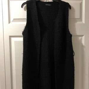 Timing, Long Cardigan Vest